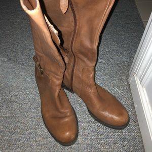 Franco Sarto Fall Leather Boots